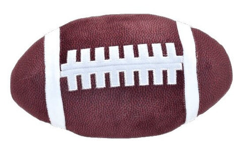 Iscream Football 3D Slow Rise Pillow Basically Bows & Bowties