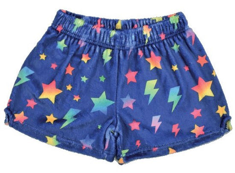 Iscream Stars and Lightning Plush Shorts Basically Bows & Bowties