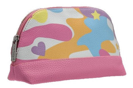 Iscream Rainbow Camo Small Cosmetic Bag Basically Bow & Bowties