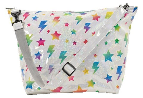 Iscream Stars and Lightning Weekender Bag Basically Bows & Bowties