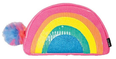 Iscream Rainbow Small Cosmetic Bag