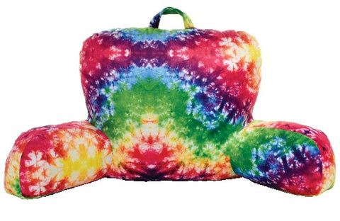 Iscream Rainbow Tie Dye Lounge Pillow Basically Bows & Bowties