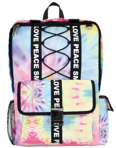 Iscream Pastel Tie Dye Backpack
