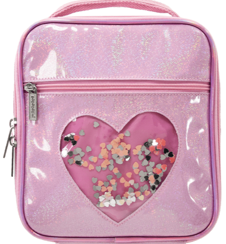 Iscream Heart Confetti Lunch Box
