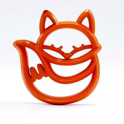 Itzy Ritzy Silicone Teether - Fox