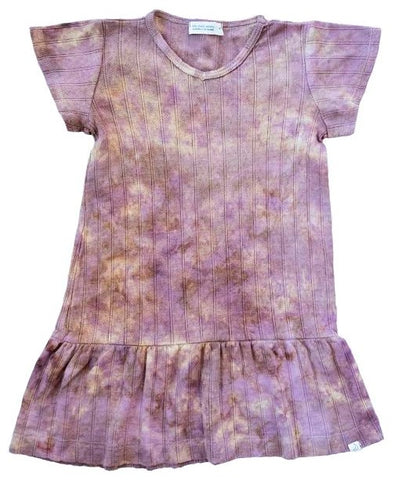 Little Moon Society Lulu Dress in Orchid Basically Bows & Bowties
