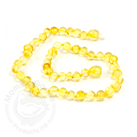 Amber Goose Baroque Lemon Necklace