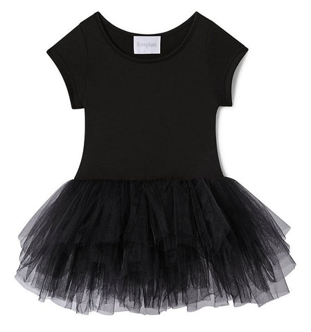 iloveplum Black Stella Bestie Tutu Dress Basically Bows & Bowties