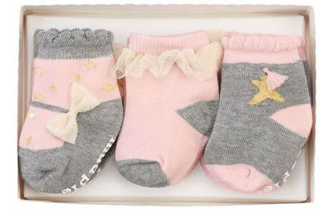 Dream in Glitter Sock Set - Basically Bows & Bowties