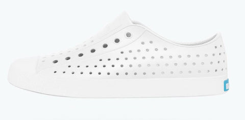 Native Adult Jefferson Shoes - Shell White / Shell White