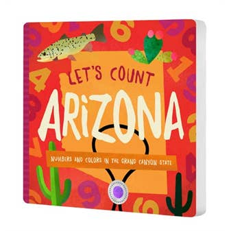 Let's Count Arizona Board Book