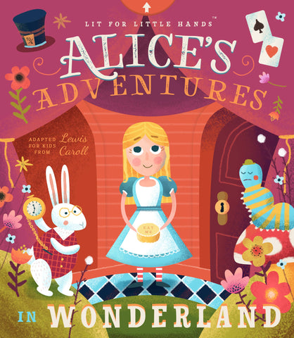 Familius Lit for Little Hands: Alice's Adventures in Wonderland Board Book