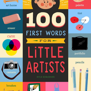 100 First Words for Little Artists Board Book