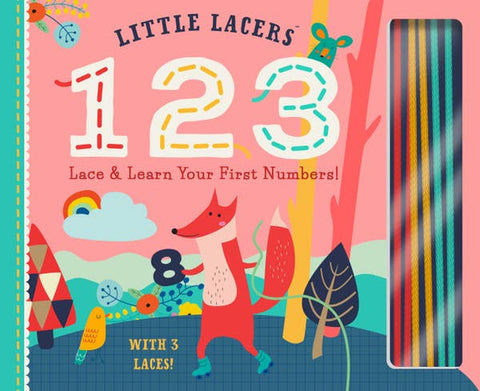 Little Lacers 123 Board Book