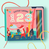 Familius Little Lacers 123 Board Book