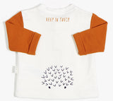 Miles Baby Keep in Touch Long Sleeve Top - Basically Bows & Bowties
