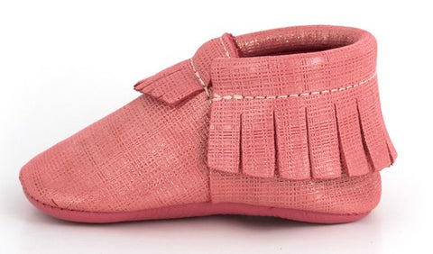 Freshly Picked Grapefruit Blossom Mary Jane Moccasins - Basically Bows & Bowties