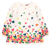 Boboli Rainbow Hearts Dress