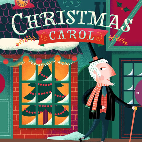 Lit for Little Hands: A Christmas Carol Board Book