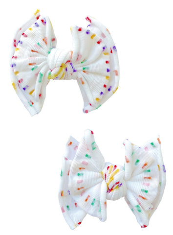 Baby Bling 2pk Baby Dot FAB Clip Set - Birthday 20 LE