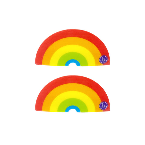 Baby Bling Rainbow 2pk Clip Set - Primary