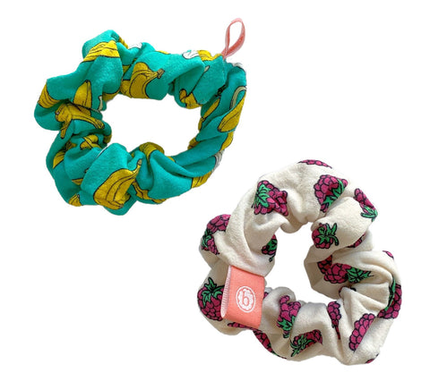 Baby Bling Banana Berry Scrunchie 2 Pack