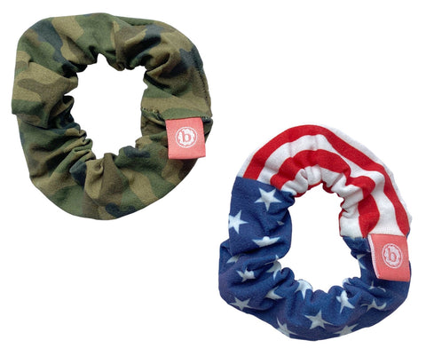 Baby Bling Freedom Scrunchie 2 Pack