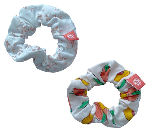 Baby Bling Peaches N Cream Scrunchie 2 Pack