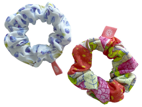 Baby Bling Two Berries Scrunchie 2 Pack