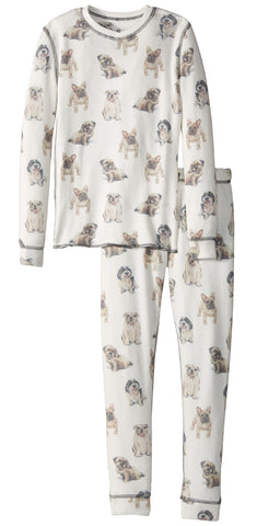 PJ Salvage Dog 2pc Pajama Set - Basically Bows & Bowties