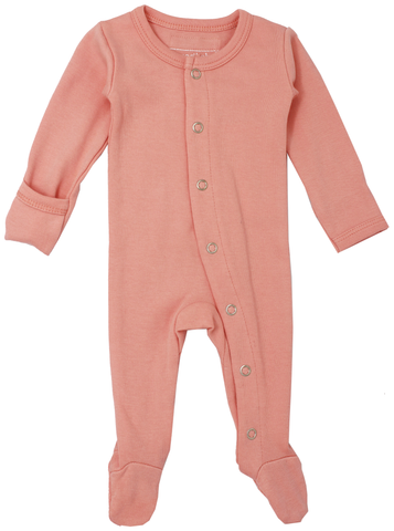 L'ovedbaby Coral Footed Overall