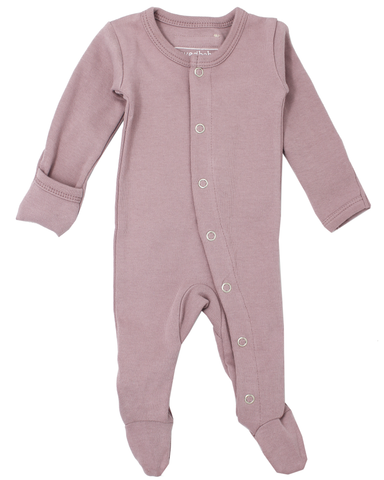 L'ovedbaby Lavender Footed Overall
