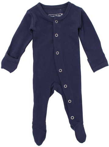 L'ovedbaby Navy Footed Overall