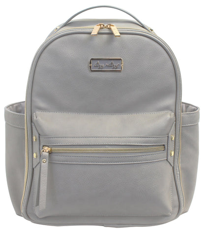 Itzy Ritzy Gray Mini Backpack