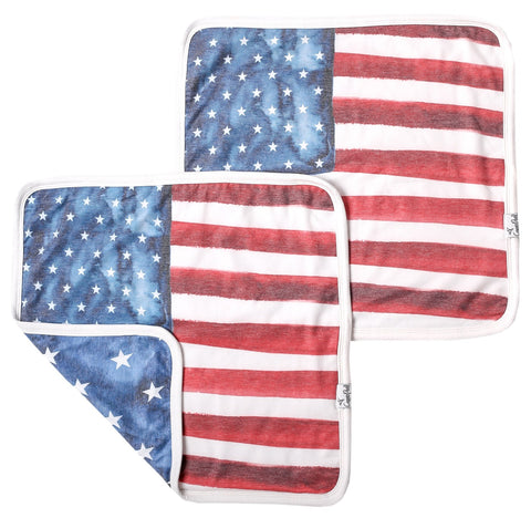Copper Pearl Patriot Security Blanket Set (2 Pack)