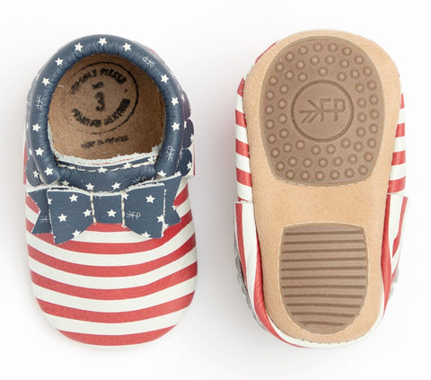 Freshly Picked Born in the USA Bow Mocc Mini Sole