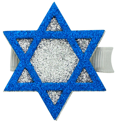 Wee Ones Glitter Star of David on Clippie
