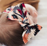 Baby Bling Southwest Printed Knot Headband - Basically Bows & Bowties