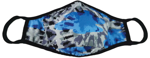 Iscream Blue Tie Dye Adult Face Mask