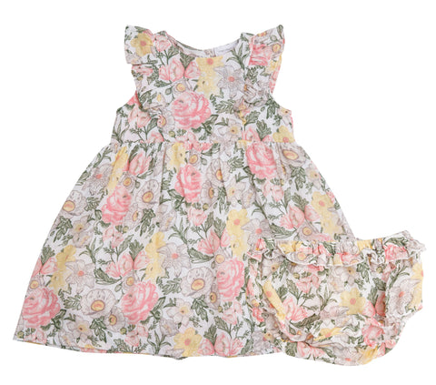 Angel Dear Traditional Floral Dress