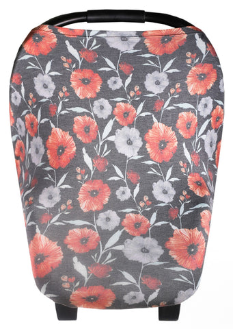 Copper Pearl Poppy 5-in-1 Multi-Use Cover