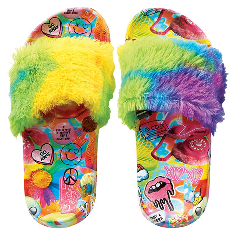 Iscream Psychedelic Fur Slides - Basically Bows & Bowties