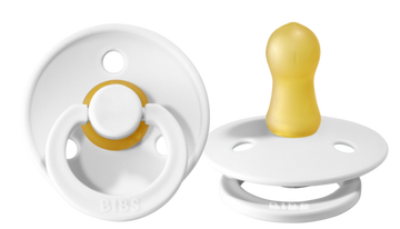 BIBS Pacifier 2 Pack - White