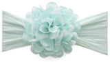 Baby Bling Printed Chiffon Flower Headband (3 colors) - Basically Bows & Bowties