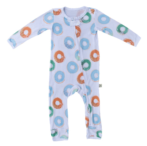 Kozi & Co Blue Donuts Coverall
