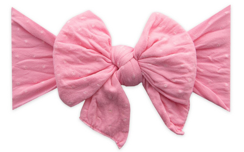 Baby Bling Bubblegum Dot DEB Bow