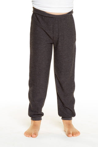 Chase Cozy Knit Contrast Piping Lounge Pants