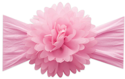 Baby Bling Pink Chiffon Carnation Flower