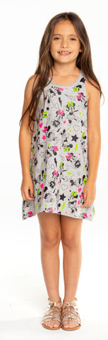 Chaser Minnie Mouse Minnie All Over Tank Dress
