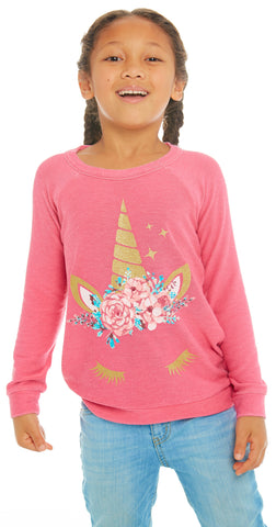Chaser Unicorn Dream Cozy Knit Pullover